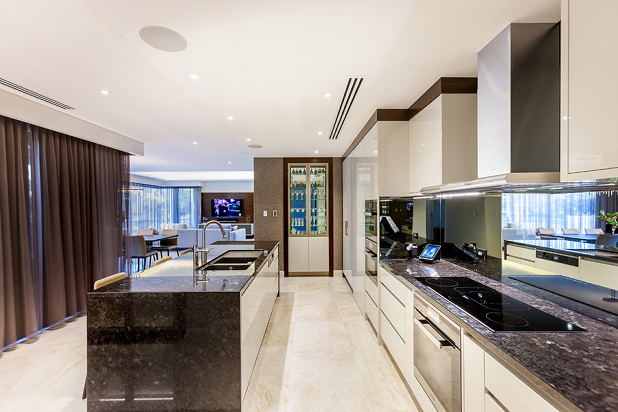 granite stone kitchen