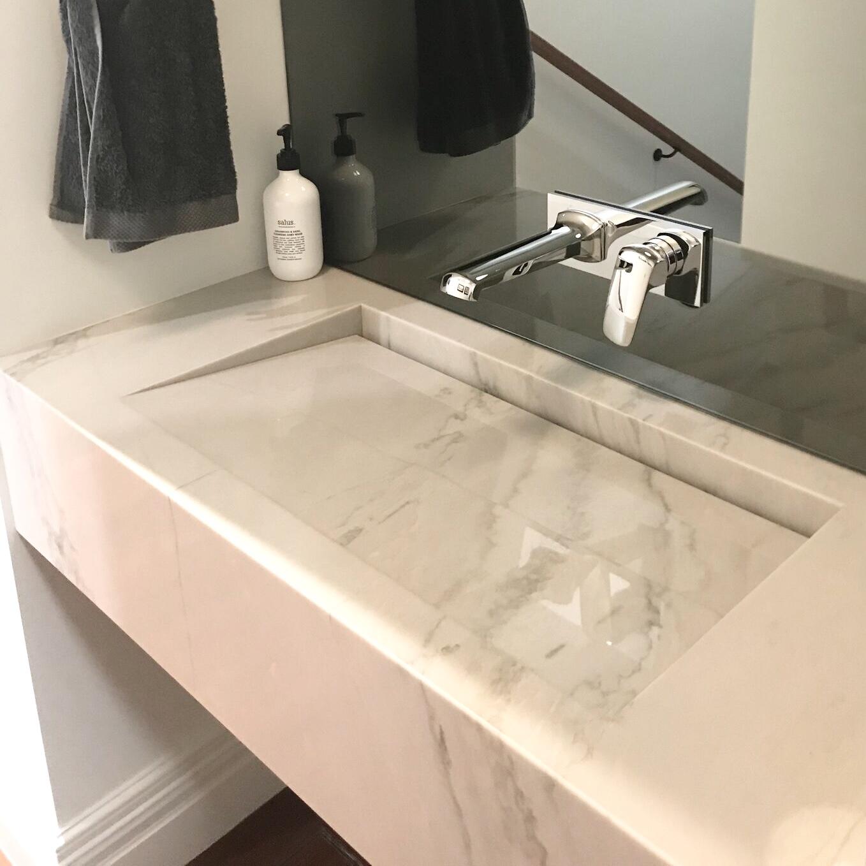 marble porcelain basin bravvo perth