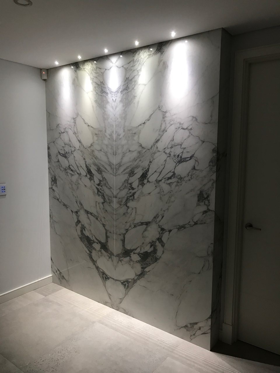 bravvo perth marble porcelain stone feature wall