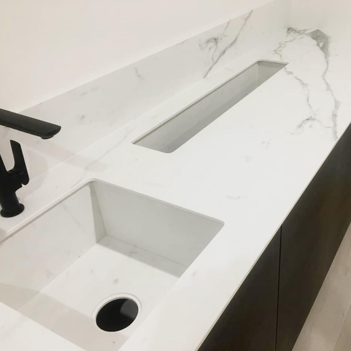 bravvo stonemasons bathroom sink porcelain stone marble