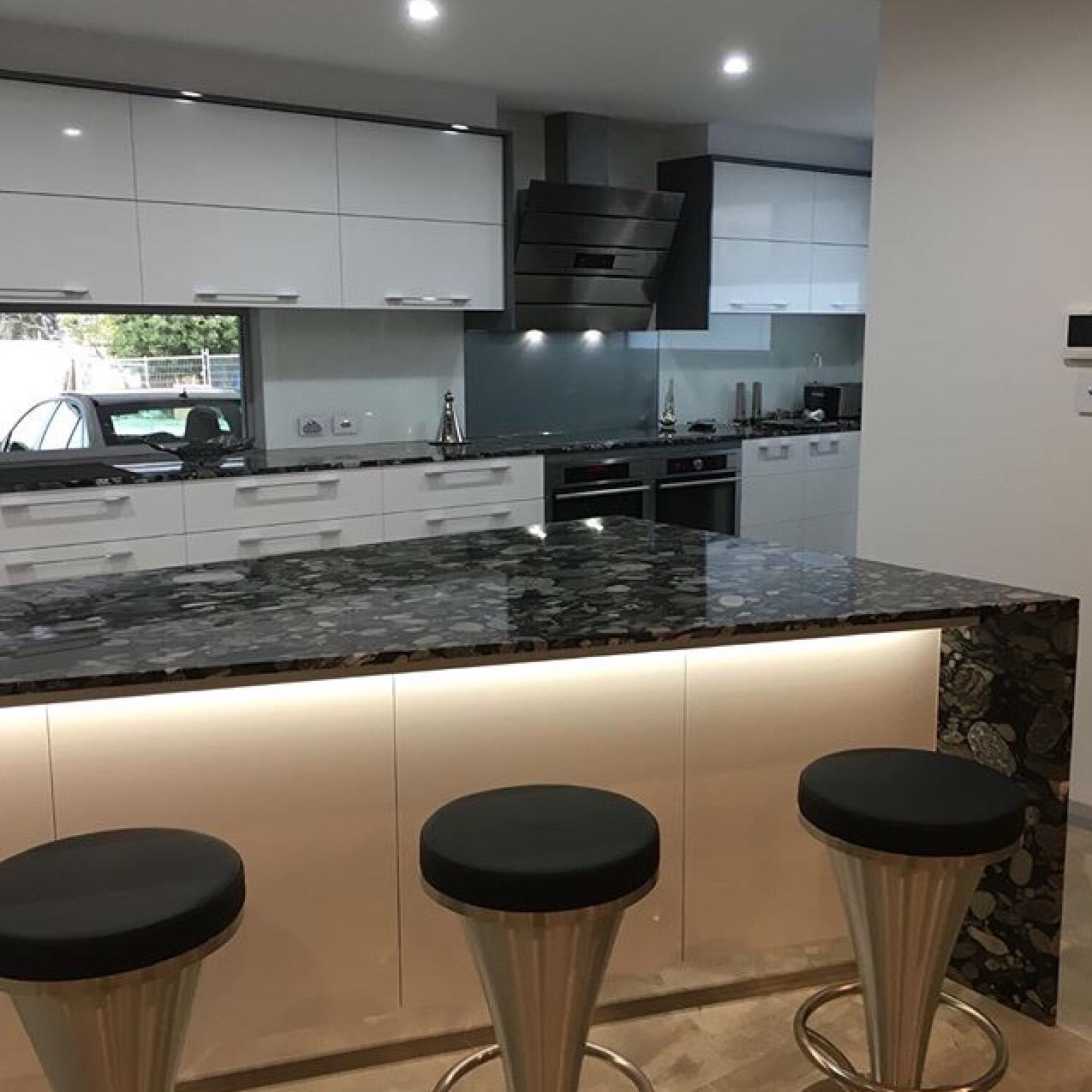 bravvo onyx benchtop kitchen